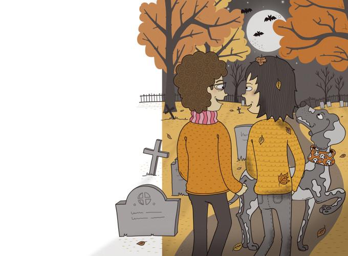 Bodil på kyrkogården – Nypon förlag